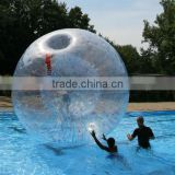 water walking ball, person inside ball, inflatable water zorb ball for sale