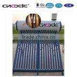 Ce Approved Stainless Steel Compact En12975 Compact Pre-heated Thermosyphone Solar Water Heater System