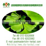 plant extract cosmetology 98% Subtle stitching yellow and brown powder Ginkgo Biloba Extract