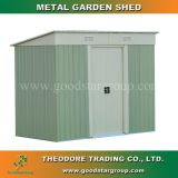 Good Star Group metal garden shed pent roof outdoor backyard tools storage shed kits portable steel building