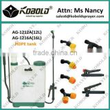 (AG-1220A) kobold liquid fertilizer sprayer, farm sprayer, manual knapsack sprayer 20l