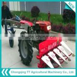 Popular top sale kubota Walking tractor 8hp mini trailer for power tiller