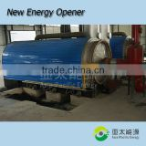 Large capacity Continuous waste plastic recycling plant medical waste pyrolysis machine/waste to energy plant