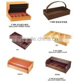 Wood tray stand storage tray for Housekeeping linen trolley maid service cart & cleaning cart