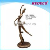 Small resin figurines ballet girl