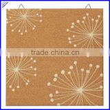 Quality printed decorative cork board hanging cork board