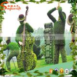 Wholesale large animal sculpture glass sculpture custom modern garden sculpture