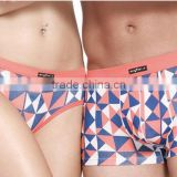 hot ladies mens sexy couples plaid bamboo fiber brief panties