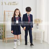 Fashionable western style school uniform design for girls