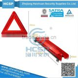 Strong Plastic Packing Unique Car Emergency Kits Warning Triangle LED,led traffic warning triangle