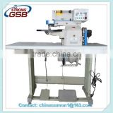 LZ-518-B-type semi-automatic folding plastic machine /thermo-cementing edge folder machine industrial sewing machine for leather