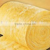 Thermal insulation fire retardant sound absorption glass wool blanket with aluminium foil