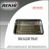 Scaler Tray,Dental Scaler Tray,Surgical Scaler Tray,dental instruments Scaler Tray,holloware