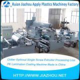 hiller Optional Single Screw Extruder Processing Line PE Lamination Coating Machine Made in China