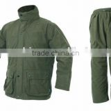 Green Waterproof Extreme Winter Hunting Clothes for men