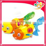 2013New Arrival Plastic Electroni Funny Lay Eggs Fish, Colorful Lay Eggs Fish Toy With Dazzling Light And Wonderful Music