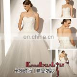 1884-EB801T Brand 2015 new style ball gown brides wedding dress sweetheart necklline bridal dress chapel train party dress