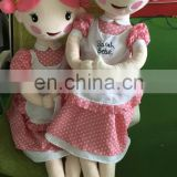 OEM order customized Sarah belle plush doll for sale