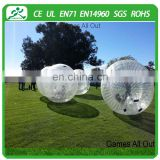 Hot!! rolling ball, inflatable zorb ball for bowling, giant human bubble ball for adults
