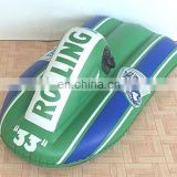 PVC inflatable snow mobile