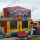 commercial bouncers,cheap inflatable,art panel inflatable bouncers d037