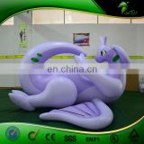 Giant Inflatables Goodra with Wings Replica Balloon Lying Cartoon Dragon Animal Inflatable Toys Japan Cartoon Sexy Doll