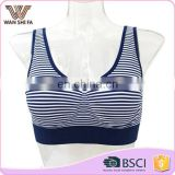 92% nylon 8% spandex professional custom wholesale fashionable sport bras