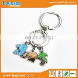 2017 New Design Mexcio Pendent Metal Customized Metal Keychain