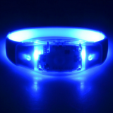 Sound Control Led Pulse Flashing Light Up Silicone Rubber Bands