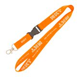 Ribbon lanyard factory Polyester hollow cotton rope Exhibition badges lanyard Customizable logo