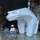 Customized Hot Selling High Quality Large Animal Sculptures Polar Bear Sculpture Outdoor or Indoor Decoration
