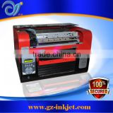 Multicolor economical Mini digital A3 size UV flatbed direct to garment printer                                                                         Quality Choice