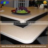 Quality assurance artificial chinese countertop quartz stone slab