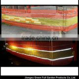 REFLECTIVE Safety Barrier Fence - Orange & Yellow by the Metre