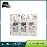 Distressed Dove Sweet Laughing MDF White Baby Picture Photo Frame