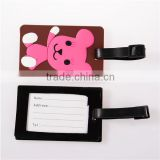 Custom Luggage Tags With Lovely Strap Baggage Tag