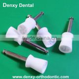 Denxy Star Dental materias Screw style flat prophy cup dental disposable prophy cup for polishing