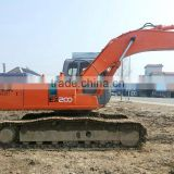 Used Japan Hitachi excavator EX200-5 Isuzu engine, 0.8m3 bucket, 20 ton