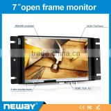 7 inch open frame lcd touch panel medical monitor with vga input