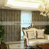 2015 Wholesale Blackout Fabric for Window Curtain beautiful 100% polyester jacquard outdoor balcony curtains
