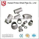 45 degree short radius steel pipe elbow, ASTM A234 butt weld elbow