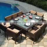 Garden classics outdoor furniture/wooden garden furniture/poly rattan garden furniture(DH-N9073)