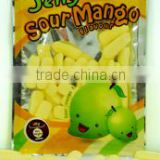 100g Jelly Sour Mango, Halal Candy, Marshmallow