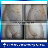 China top ten selling sexy products silver waist chain special belly waist chain W0007                                                                         Quality Choice