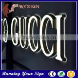 Waterproof LED light up wall acrylic mirror letters                                                                         Quality Choice
