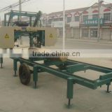 portable wood band saw mill machine