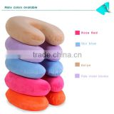 Colorful cover Micro-beads neck/travel/sweet dream pillows U Shape