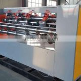 Corrugated cardboard thin blade slitter scorer machine/Thin blade slitting and creasing cutting machine