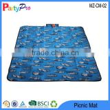 2015 Nice Portable Car Pattern Baby Crawling Pad Sleeping Cushion Moistureproof Outdoor Foldable Beach Mat
