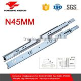 3-fold ball bearing slide telescopic drawer slide channel